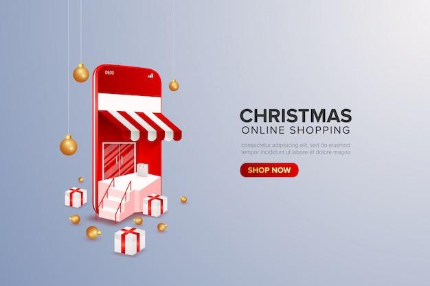 Online-shopping-sonderangebot weihnachten großer verkauf