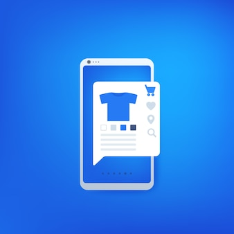 Online-shopping-vektor-symbol