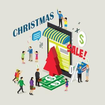 Online-shopping-weihnachtsverkauf