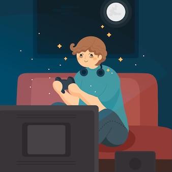 Online-spielsucht