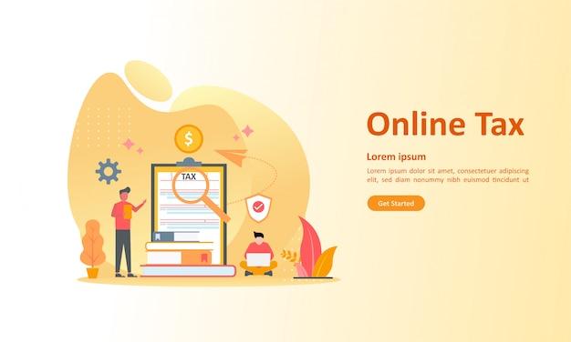 Online-steuerzahlung