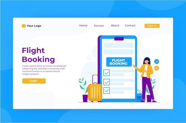 Online-ticket-landingpage kaufen
