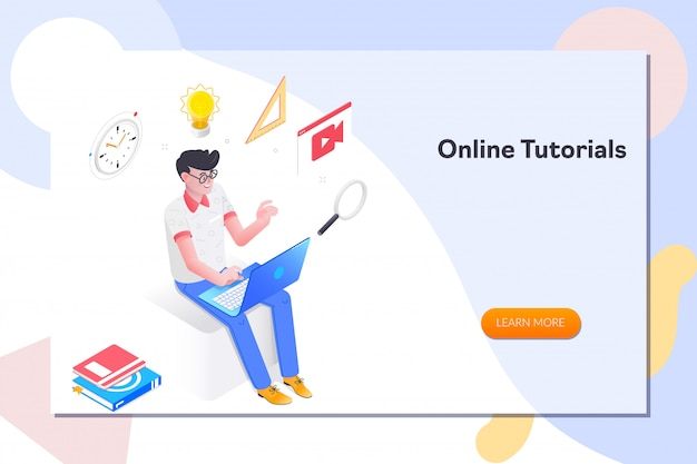 Online-tutorials zielseite