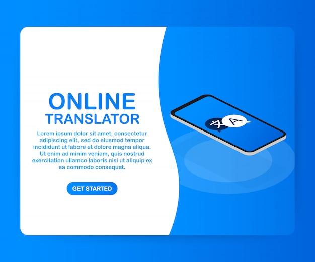 Online-übersetzervorlage