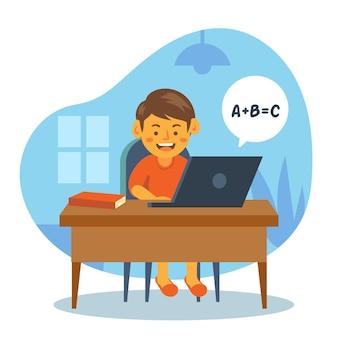 Online-unterricht für kinder