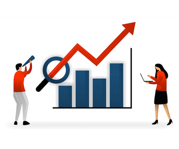 Online-verkehrsanalyse und seo-keyword-auswahl