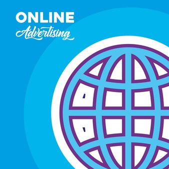 Online-werbung design