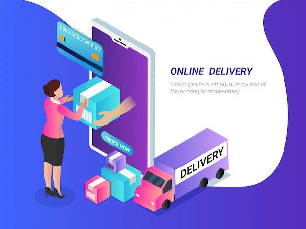 Online-zahlung versand und lieferung.