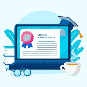 Online-zertifizierung