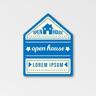 Open house immobilien label thema