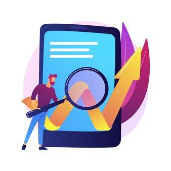 Optimierung mobiler software. geschäftsentwicklung