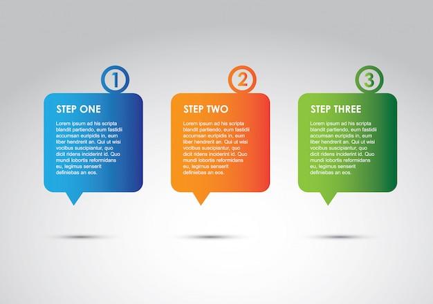 Optionen für infografiken