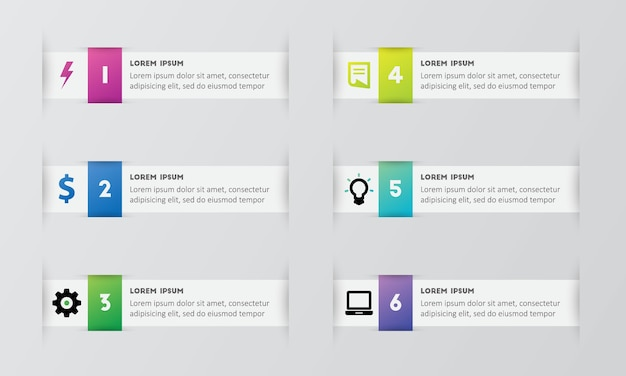 Optionen infografiken