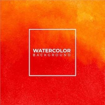 Orange abstrakter aquarellbeschaffenheitshintergrund