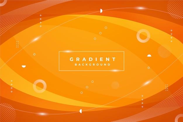 Orange abstrakter hintergrund mit farbverlauf