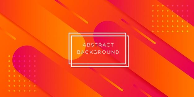 Orange abstrakter hintergrund