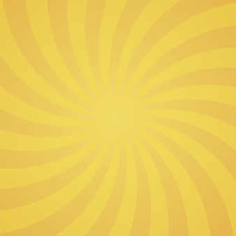 Orange farbe spin burst hintergrund
