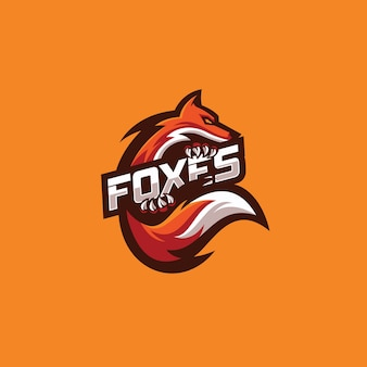 Orange fox-logo