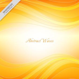 Orange glänzenden hintergrund