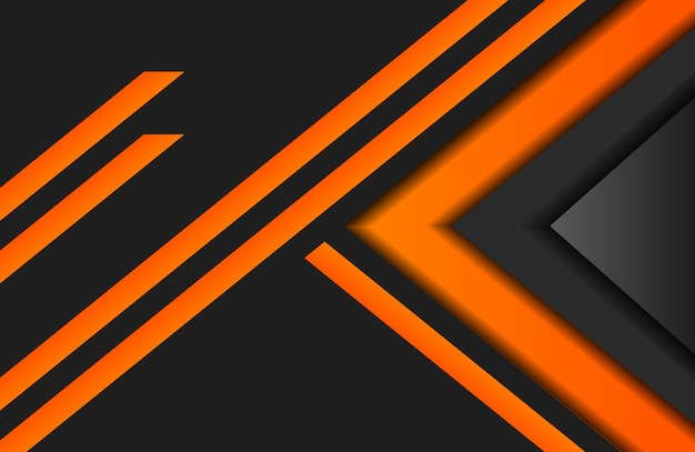Orange streifen abstrakter hintergrund