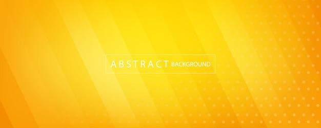 Orange und gelber abstrakter hintergrund