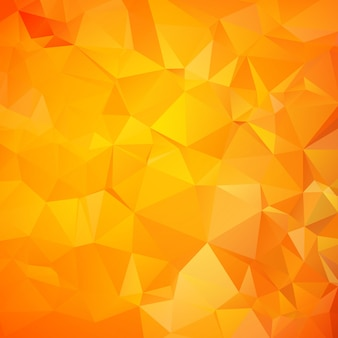Orangefarbenes dreieck (geometrisches muster)