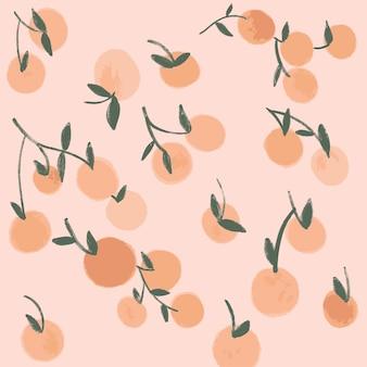 Orangen-muster