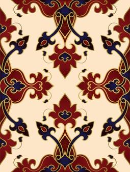 Orientalisch reiches ornament.