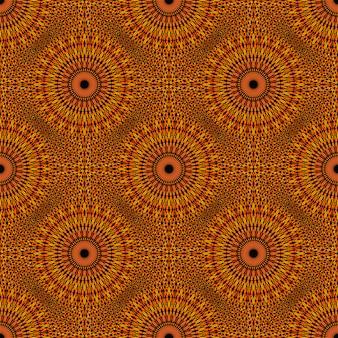 Orientalische abstrakte mandalamuster-hintergrundkunst