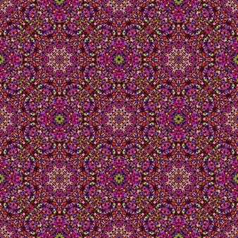 Orientalisches muster des abstrakten böhmischen edelsteinsteins