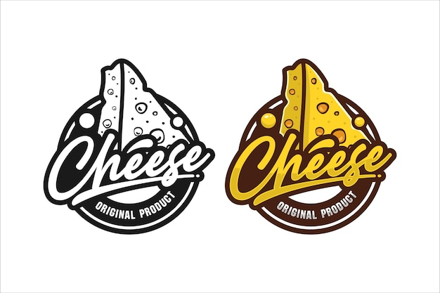 Original-produktdesign-logo für käse