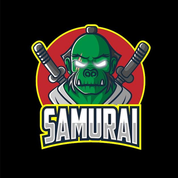 Orks samurai esport logo