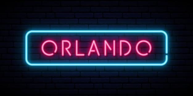 Orlando leuchtreklame.
