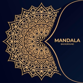 Ornament luxus mandala hintergrund