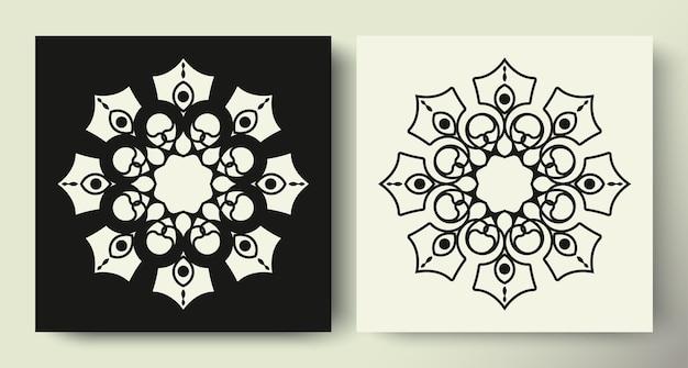 Ornament-muster-kreis-kollektion