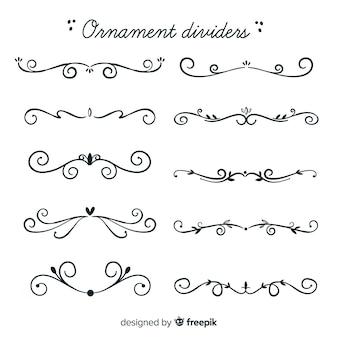 Ornament teilersammlung