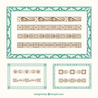 Ornamental illustrator bürsten
