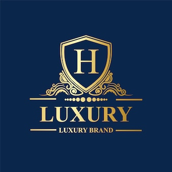 Ornamente luxus logo premium