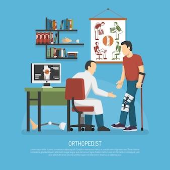 Orthopädie-design-konzept