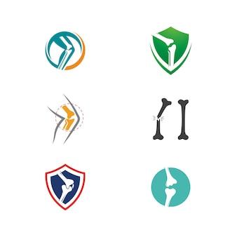 Orthopädische vektor icon design illustration vorlage