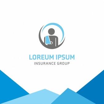 Orthopädische versicherung logo-vorlage
