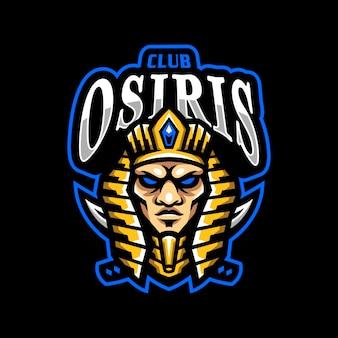Osiris maskottchen logo esport gaming