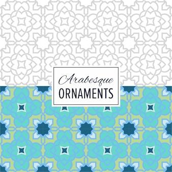 Ost-marokko nahtloses ornament muster