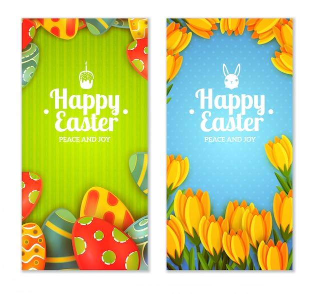 Ostern banner gesetzt