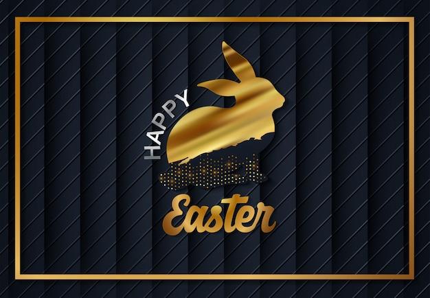Ostern gold eier