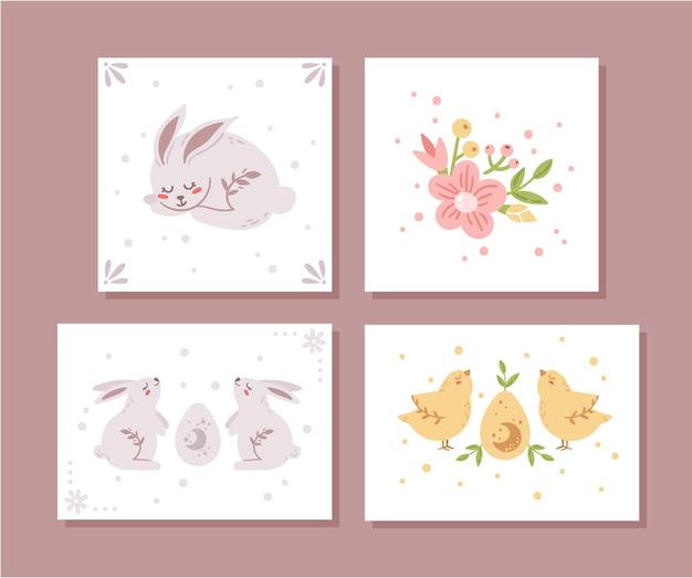 Ostern kinderzimmer poster bündel