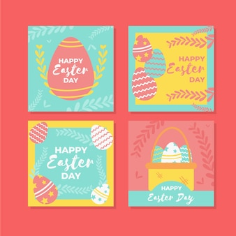 Ostern tag instagram post pack