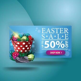 Ostern verkauf banner