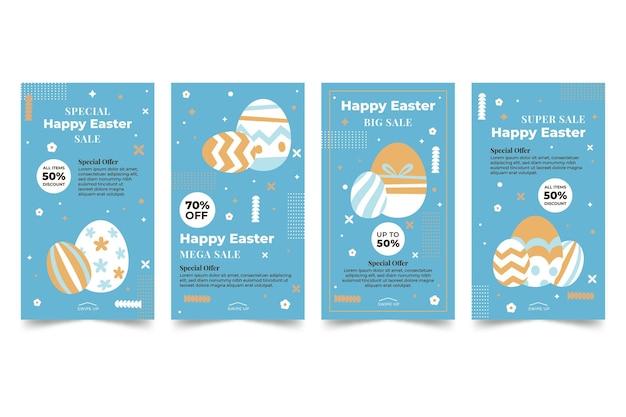 Ostern verkauf instagram geschichten sammlung
