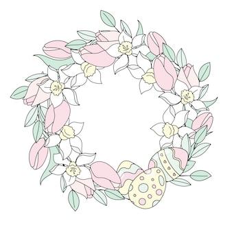 Ostern wreath